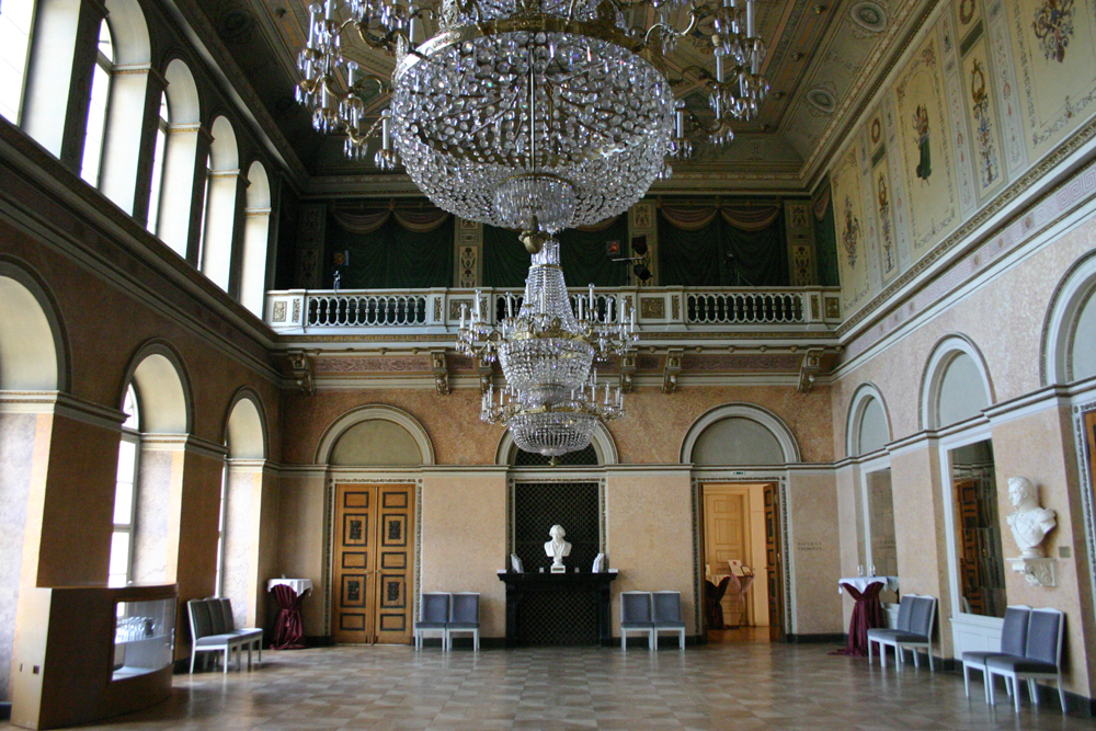Location Foyer, klassizistisch, Klassizismus, Theater, Buehne